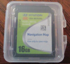 2012 2013 Hyundai Santa Fe V6 Navigation GPS SD Card Map USA OEM 96554-B8100