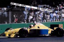 9x6 Photograph, Luca Badoer  F1 Forti FG01B   Australian GP Adelaide 1996