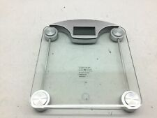 WW Scales by Conair Digital Glass Weight Scale with Contemporary Silver Finish B