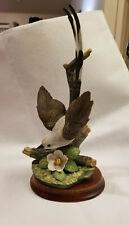 Homco 1986 Home Interiors Retired Scissor-Tail Bird w/ Wooden Stand