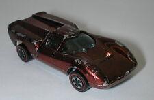 Redline Hotwheels Brown 1969 Lola Gt70 oc12427