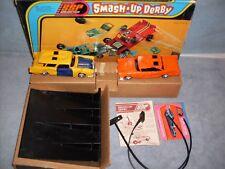 1973 Kenner SSP Smash Up Derby Orange & Yellow Set Complete N/Mint HTF
