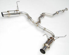 2010-2014 Subaru Impreza WRX STi Sedan Invidia N1 Cat-Back Exhaust System SS Tip
