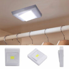 3W COB LED Wall Switch Wireless Closet Cordless Night Light Battery Operated