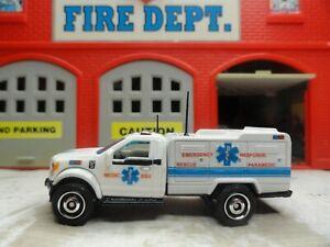 MATCHBOX FIRE FORD F-150 ESU EMERGENCY RESPONSE RESCUE PARAMEDIC CUSTOM UNIT