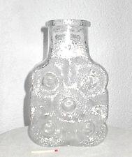 Vidrio talla bottle jarrón Riihimäki riihimaen lasi Oy Design objeto Nanny still 60er