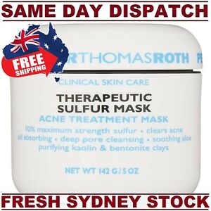 Peter Thomas Roth THERAPEUTIC Sulfar ACNE Mask 150g MAXIMUM STRENGTH CLEARS ACNE
