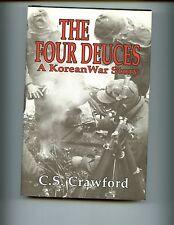 THE FOUR DEUCES - A Korean War Story.,Crawford, 1st Marines,  1st  HBdj  VG