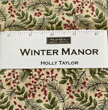 42 Piece Charm Pack Winter Manor by Holly Taylor for Moda 2019