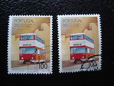 PORTUGAL - timbre yvert et tellier n° 1768 x2 obl (A28) stamp (H)