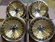 "15 ""ST7 gold alloy wheels 4 fois 100 VOLKSWAGEN VW Golf Polo mk 2 3 FIAT SEICENTO 500"