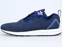 Adidas Original Zx Flux Adv Asymétrique Bleu/Blanc Baskets Hommes S80543