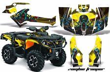 AMR Can-Am Outlander 800R/1000 XT XT-P DPS SST G2 2012-2015 ATV Graphics ZOMBIE