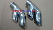 "75-81 Pontiac Trans AM Firebird 3.0"" stainless exhaust tail pipe tip splitters"
