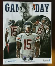 CHICAGO BEARS vs TAMPA BAY BUCCANEERS GAME PROGRAM 11/16/14 BRANDON MARSHALL