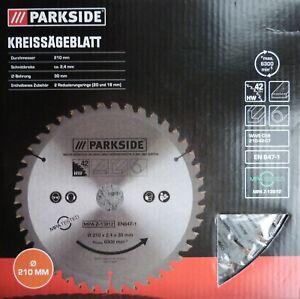 Parkside Handkreissägeblatt 42 Zähne 210 Kreissägeblatt Handkreissäge Sägeblatt