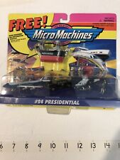 MICRO MACHINES #24 PRESIDENTIAL Miniatures Car Plane 65020 Galoob 1995 Vintage