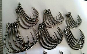 30x mixed  STAINLESS STEEL quality chemically sharpened live bait hooks