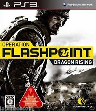 Used PS3 Operation Flashpoint: Dragon R PLAYSTATION 3 SONY JAPAN JAPANESE IMPORT