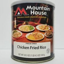 Mountain House Freeze Dried Food Chicken Fried Rice #10 Can