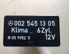 Mercedes AC Air Relay 0025451305 190e 300e 300ce 300te 300se 300sel 201 124 126