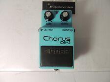 Vintage Boss CE-2 Analog Chorus Long Dash Silver Screw Effects Pedal MIJ RARE