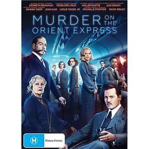 Murder On The Orient Express (DVD, 2018) Australian Stock
