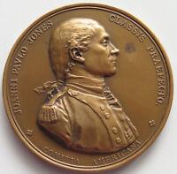 UNITED STATES John Paul Jones MEDAL 1779 Capture OF HMS Serapis  #p27 061
