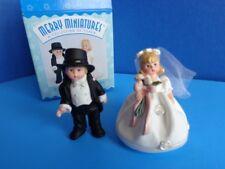 Madame Alexander Hallmark Bride & Groom Merry Miniatures- Mib