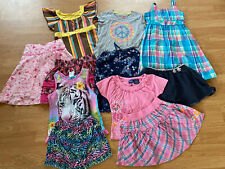 Girls' Clothes, Lot Of 11 Pieces, Size 7/8