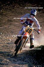 Danny MAGOO Chandler Honda MX Art 20 x 30 Photo Print Motocross Saddleback
