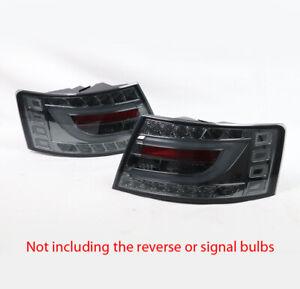 For 05-08 Audi A6/Quattro Neon Bar LED Tail Brake Light Lamp Smoke Lens Used