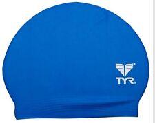 New TYR Latex Swim Cap - Color ROYAL