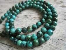 25 perles en  turquoise naturel africain 8 mm