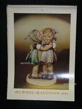 """Goebel Hummel Kalender Calendar 1962, Titelbild """"Das Geheimnis"""""""
