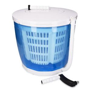 2in1 Mini Waschmaschine Wäscheschleuder Camping Waschautomat Reisewaschmaschine