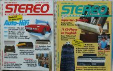 Stereo Zeitschriften 4,5,7,9/1986 Einzel-Mehfach-Verkauf