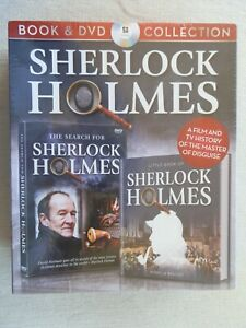 Sherlock Holmes (Book & DVD Collection) Brand New & Sealed