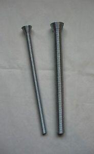 """Set (2) Tube Bending Springs For 3/8"""" OD & 5/8"""" OD Soft Copper / Aluminum Tubing"""