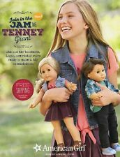 American Girl Doll catalogue rencontrer Tenney Grant & Logan mars 2017 Boutique copie NEUF