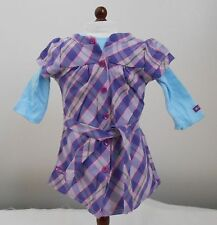 American Girl Just Like You/Truly Me retired Pretty and Plaid dress