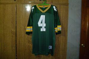 Green Bay Packers Champion NFL Jersey #4 Brett Favre Football Hip Hop Size 44 L