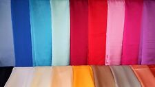 20 pcs High Quality real silk scarf Scarves Plain design New wholesale 90x190cm