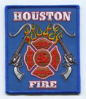 Houston Fire Department Station 45 Patch Texas TX