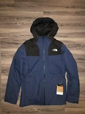 The North Face Men's Fourbarrel Triclimate Ski Jacket | Small, blue / tnf black