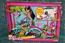 Barbie Sisters' Bike for Two! Bike Skipper and Chelsea playset, damaged box