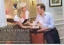 Coupure de presse Clipping 2015 Renaud Capuçon  (6 pages)