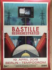 BASTILLE  2018  BERLIN  - orig.Concert Poster - Konzert Plakat  A1 NEU
