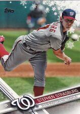 2017 Topps Holiday Baseball Trading Card, # HMW146 Stephen Strasburg