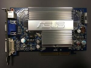 ✔ tested ASUS NVIDIA GeForce 7600 GS (N7600GS) Silent 256 MB DDR2 SDRAM AGP